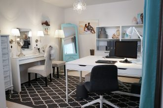 IKEA Home Tour Makeover Home Office Makeover