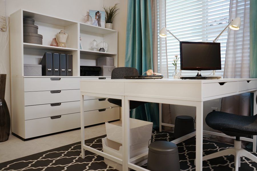 Merveilleux ... IKEA Home Tour Makeover Home Office Makeover ...