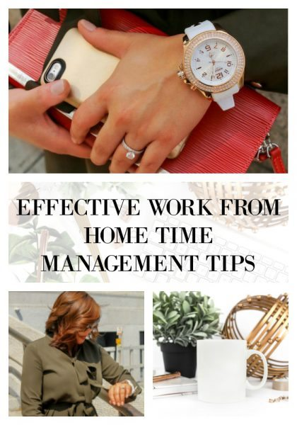 Effective work from home time management tips you need today to be successful