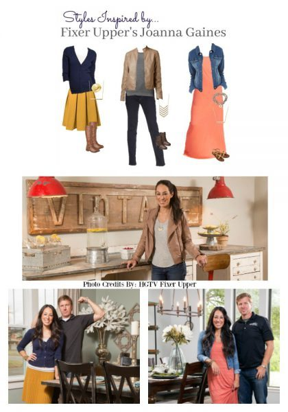 Styles Inspired by Fixer Upper Joanna Gaines from HGTV