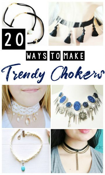 Unbelievably Easy DIY Chokers You Can Make At Any Age