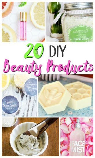 DIY Beauty Products For Home Self Care
