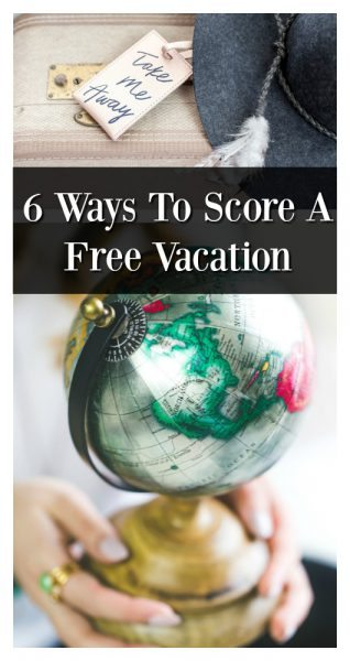 6 Ways To Score A Free Vacation Pinterest