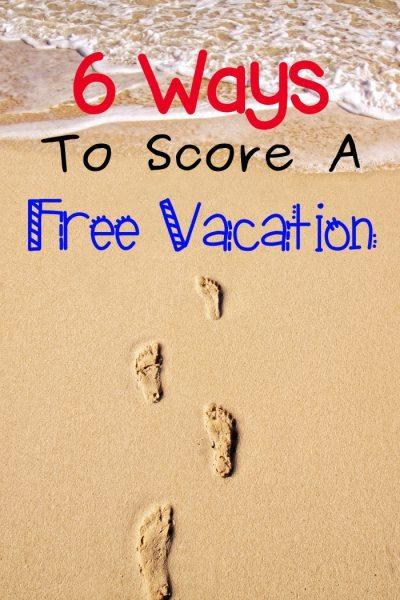 Score A Free Vacation