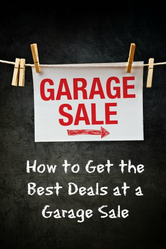 Garage Sale sign