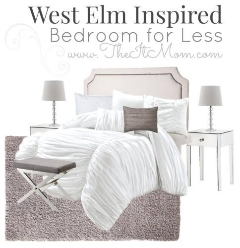 4.16 The It Mom West Elm Inspired Bedroom MOODBOARD