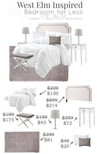 4.16 The It Mom West Elm Inspired Bedroom VERTICAL