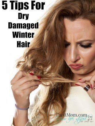 Dry Damaged Winter Hair
