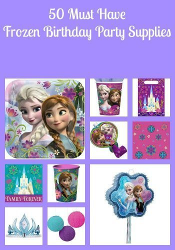 50 Must Have Frozen Birthday Party Supplies