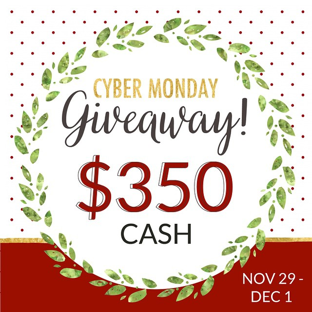 SURPRISE! Hey guys! We want to make your holiday season a little easier! Not only will you walk away with $350 **ONE winner takes it all** but we're introducing you to some amazing bloggers and shops who will help guide you through every little Christmas detail. We're all winners!  Here's how to enter: -FOLLOW and LIKE this photo -Tag a friend for an extra entry -Tap the photo to see where to go next or click on (@subsidyshades is up next) -You must follow all accounts to be entered *We'll announce the winner Dec 1st just in time for Cyber Monday shopping*  READY...SET...GO!