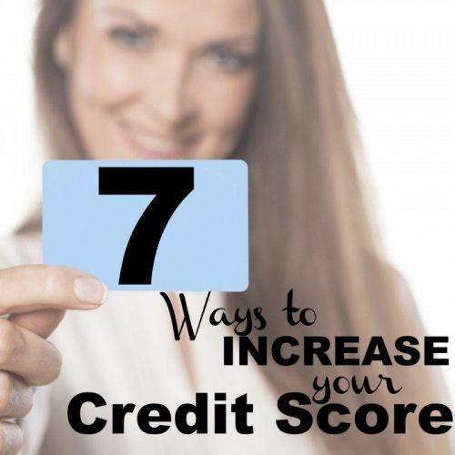 credit score increase tips
