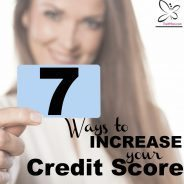 fix credit increase credit score